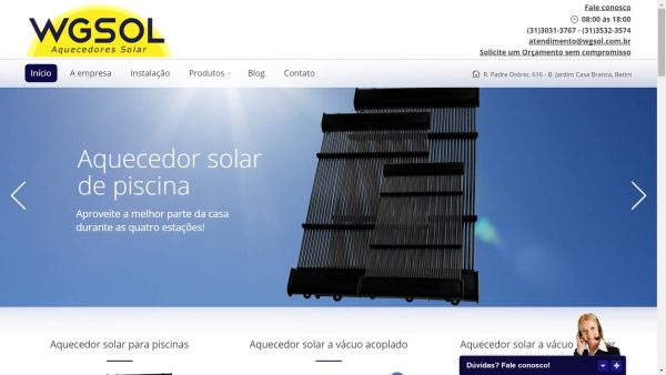 WGSOL - Aquecedores Solares