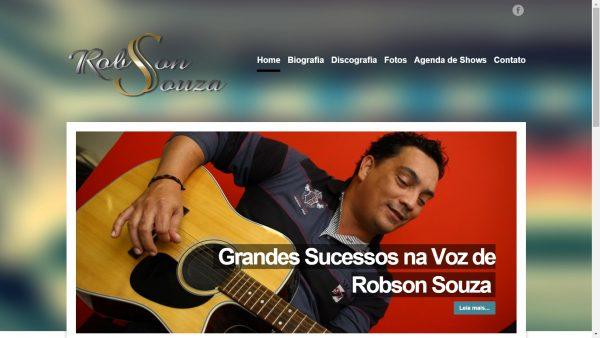 Novo site Robson Souza