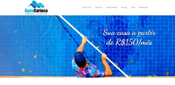 Água Carioca - Página Inicial