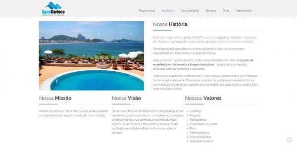 Água Carioca - Institucional